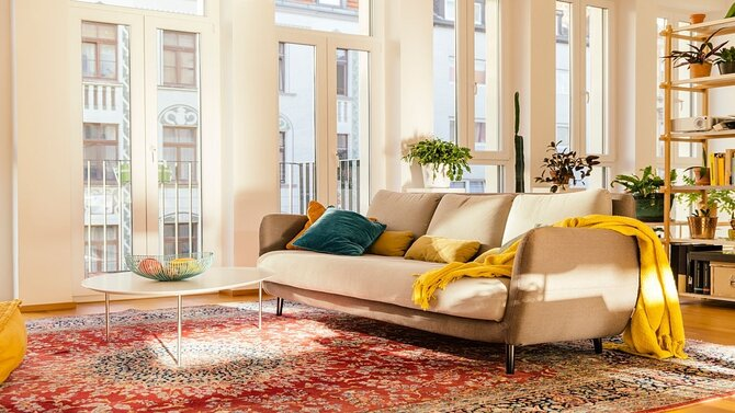 Add The Modern Rugs To Make Your House Even More Beautiful