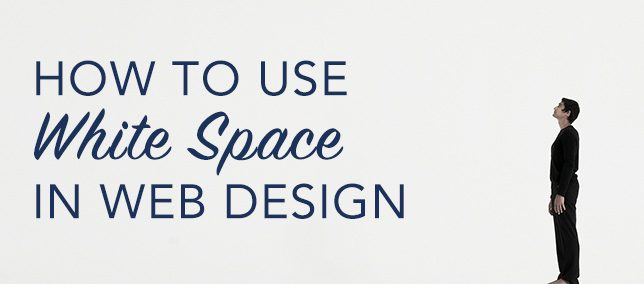 How To Use White Space In Your Website
