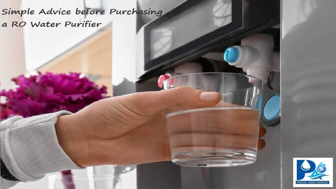 Simple Advice before Purchasing a RO Water Purifier